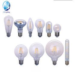 E26 E27 E14 E12 밝기 조절 가능 LED 필라멘트 전구 2W 4W 6W 스팟 조명