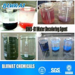 Eliminación del color de la venta caliente productos químicos de tratamiento de aguas efluentes textiles