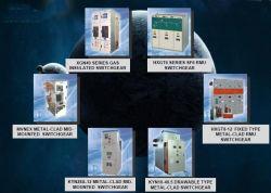 Apparecchiatura elettrica di comando; Apparecchiatura elettrica di comando Metal-Clad dell'isolamento del gas di alta tensione di CA (DXG-12)