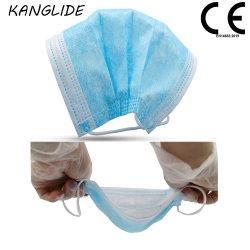 Test de Witte Lijst En14683 van de Ce- Overheid Al Mak van het Gezicht van het Certificaat Beschikbare 3ply Medische Chirurgische