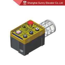 엘리베이터 카 - 엘리베이터 안전 구성 요소를 위한 상단 검사 상자