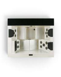 Kleine en bescheiden gewicht Whirlpool tub buiten Spas Acryl Bad SPA-543