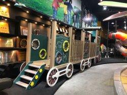 GS TUV Standard 2020 novos jogos Estilo Ferroviária Parque Infantil para crianças Piscina&Piscina