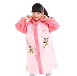 Vender Moda Rainsuit caliente de plástico de PVC impermeable a los niños con capucha para niños