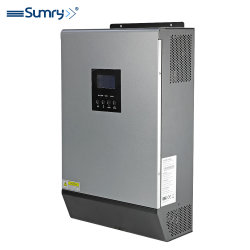 1kVA 800W MPPT Onde sinusoïdale pure Smart onduleur solaires PV hors réseau 50/60Hz 30-66VCC de comparaison automatique d'90~280VAC pour les panneaux solaires