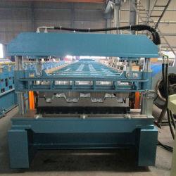 3 موجات الأرضية منصة تدحرج آلة تشكيل في الصين تستخدم للوحات الأرضية الفولاذية