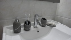 Supporto del Toothbrush della stanza da bagno della resina (BP0102-LGS)