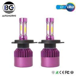 O sistema de iluminação automática X7 Lâmpadas LED para H7 H11 H4 H8 H9 levou os faróis de automóveis