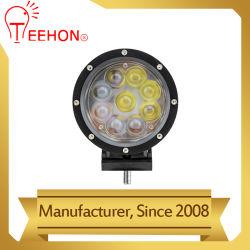 Черной передней рамы 45W 4D круглый светодиодный Offroad рабочие фонари