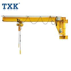 0,5 Ton -2 Ton Wandmontierter Arm Jib Kran für Workshop-Nutzung