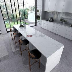 2 см оптовая торговля строительными материалами кухня Coutertop ванной комнате есть раковина искусственного белого мрамора Calacatta кварцевого камня