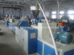 PE/PP/AP plastique tuyau ondulé à paroi simple ligne de production d'Extrusion/Machine de l'extrudeuse