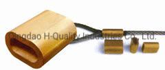 Férulas de cobre de Color automático para conectar el cable