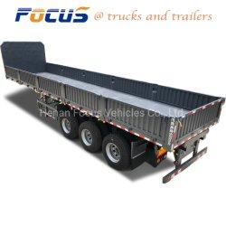 3 محور العجلة [سد بوأرد] شحن شاحنة مقطورة مع هيدروليّة يلقي عمل
