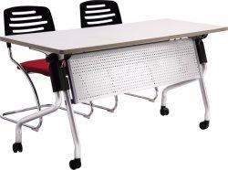 Office Trainingd University Classroom Aluminium Alloy Folding School Chair en Bureau