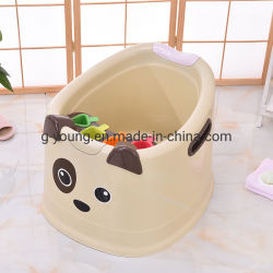 Qualidade elevada de crianças de plástico do bebê Banheira / Animal Balde
