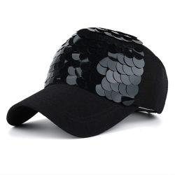 Sedex 100% coton Bling de vérification de Mermaid ajustables en maille camionneur Parti Sequin Caps