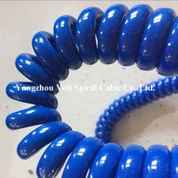 Медного лома электрического кабеля питания винт кабеля спиральная пружина троса провод кабель катушки