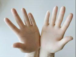 De beschikbare Niet-steriele Gepoederde Handschoenen van het Latex, Gepoederd Ce van de Rubberlatex