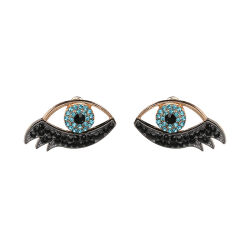 Groothandel 2018 Top Design Women Fashion Jewelry Accessoires Fashion Evil Of Eye Oorbellen