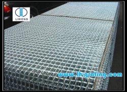 Industrieller Fachmann-gezackte oder normale flache Stahlvergitterung für Walkside