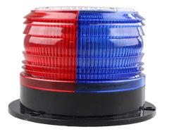 파랗고와 빨강 6PCS LED를 가진 태양 LED 스트로브 빛