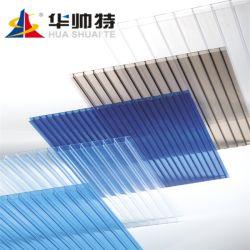 La máxima calidad de pared doble protección UV Láminas de Policarbonato hueco