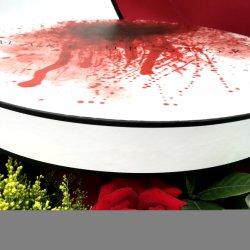 Tamaño grande de alta calidad caja de papel/caja de flores