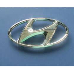 Hyundai Voiture de l'emblème de l'emblème de la tête le couvercle du volant Logo voiture