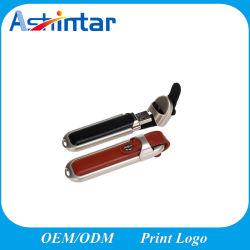 128g USB2.0のフラッシュ駆動機構の高速ペン駆動機構の革USBの棒のフラッシュディスク