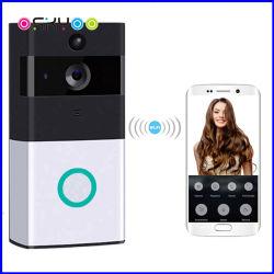 Video telefono del portello dell'allarme della videocamera di sicurezza del campanello senza fili del IP