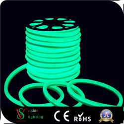 مصابيح LED باللون البرتقالي خاصة بتقنية Neon Flex للزينة الخارجية