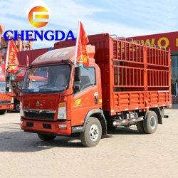 Sinotruk camiones HOWO Mini vehículo de carga de la luz de 4X2 Camión de carga