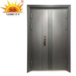 باب درع من الفولاذ ذو اللون الفاخر
