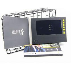 In het groot Nieuw Ontwerp LCD van de Douane van 7 Duim Druk van de Kaart van de Groet van Kerstmis van de Kaart van de Uitnodiging van de Brochure de Video voor de Zaken van de Gift