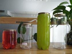 Einfacher geöffneter Plastik kann mit Kappe mit Firmenzeichen für Kaffee-Saft-Bier-Dosen-Blechdose
