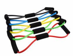 2020 elastischer Zugseil-Abdominal- Prüfsystemrower-Bauch-Widerstand-Band-Gymnastik-Sport-ausbildende elastische Bänder für Eignung-Gerät
