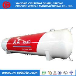 80000 litres réservoir de gaz GPL 40mt Réservoir de stockage de GPL 50cbm pétrolier de propane 60000L cuve sous pression