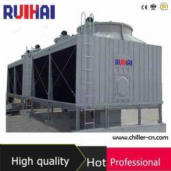 400 тонн с поперечным потоком с низким уровнем шума вентиляторов системы охлаждения двигателя в корпусе Tower