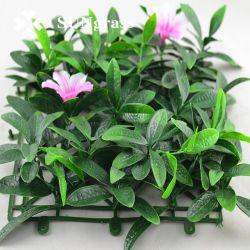 Flor decorativa de flores artificiais de flores na parede Fake flor para piscinas interiores e decoração de jardim