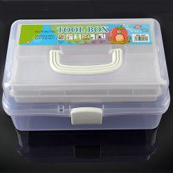 Di plastica grandi svuotano la casella di memoria dello strumento del chiodo dei 3 pavimenti