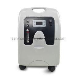 Krankenhaus-medizinische Ausrüstung beweglicher LCD-Touch Screen Lage Fluss-Sauerstoff Concntrator