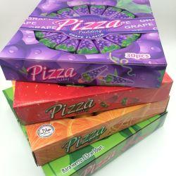 4 sabores doces Congestionamento de gelatina em forma de pizza