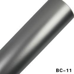 Décoration de voiture film vinyle autocollant chrome aluminium argent mat