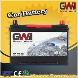 Гелиевый аккумулятор короля энергетике с Кореей стандарта 12V 75AH автомобильной аккумуляторной батареи