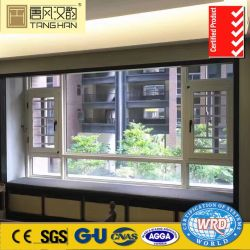 훈장 열 틈 금속 알루미늄 여닫이 창 오프닝 Windows