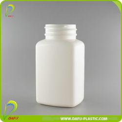 150ml de HDPE Recipiente plástico retangular com tampa roscada de plástico