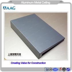 Carré d'aluminium en forme de feuille en aluminium peint