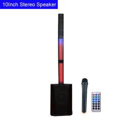 10inch 200W 수동태 8개 옴 단계 모니터 스피커 휴대용 한세트 PA 란 스피커