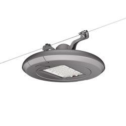 120W опоры маятниковой подвески установлены светодиодные лампы на улице